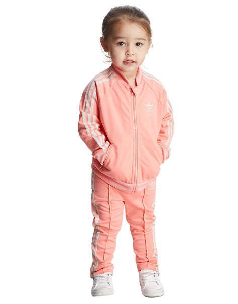 adidas new year tracksuit adidas originals superstar poly tracksuit infant