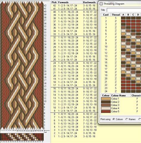 pattern inkle loom 2089 best brikv 230 vning images on pinterest inkle weaving