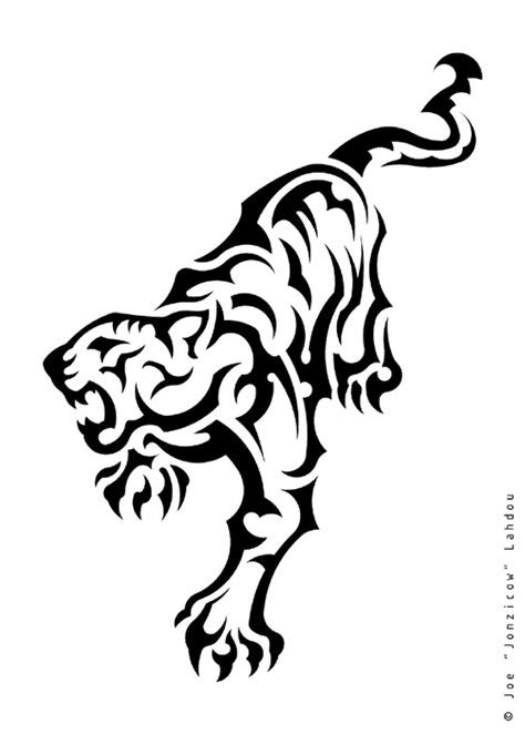 simple tiger tattoo designs simple tiger tribal