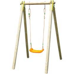 Swing Facts Garden Swing Natura Wooden Swing Set Adjustable Seat