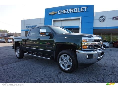 2015 silverado colors 2015 rainforest green metallic chevrolet silverado 2500hd