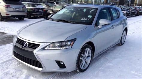 lexus ct 200h hybrid review 2014 lexus ct 200h hybrid in silver lining metallic