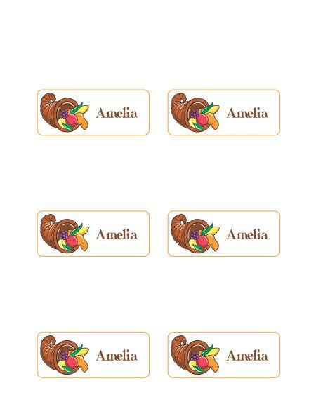 Free Place Card Templates For Thanksgiving by 7 Best Images Of Printable Thanksgiving Place Card