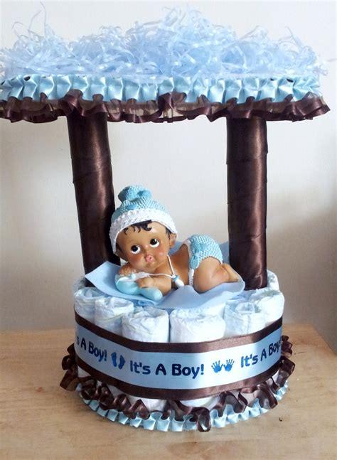 Blue Camo Baby Shower Decorations by Blue Camo Baby Shower Decorations Light Blue And Brown