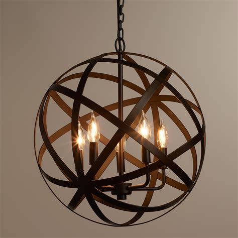 Modern White Orb Metal Chandelier We Re Proud To Present Our Exclusive Metal Orb Chandelier
