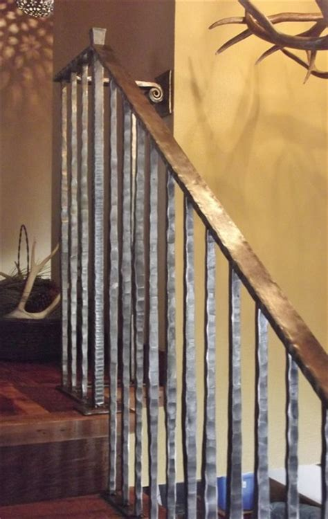 Rustic Kitchen Decorating Ideas rustic railings eclectic staircase other metro by