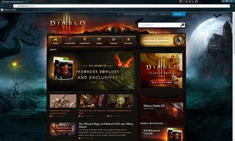 theme chrome hearthstone blizzplanet diablo iii new diablo 3 chrome theme released