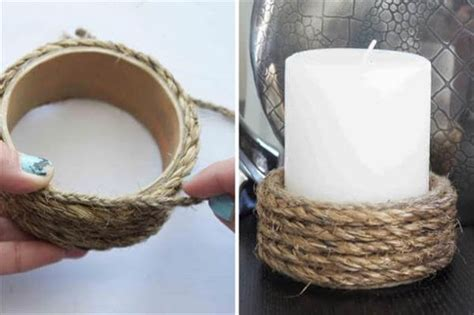 Handmade Candle Holders Ideas - 15 diy creative candle holder ideas newnist