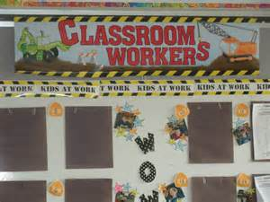 construction themed classrooms clutter free classroom
