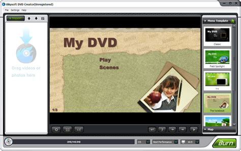 %name Dvd Flick Menu Templates Download   iSkysoft DVD Creator 3.8   DVD Software   FileEagle.com