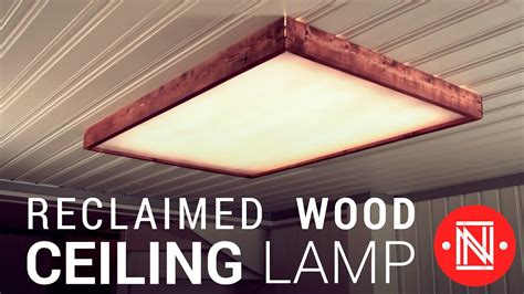 led light box diy a reclaimed wood box light how to