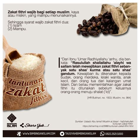 Janin Zakat Fitrah Tuntunan Zakat Fithri Doa Dan Kajian Islami