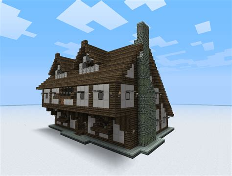 Minecraft Derni 232 Res News 1 8 Des Rivi 232 Res Et Des Minecraft Mountain House Plans