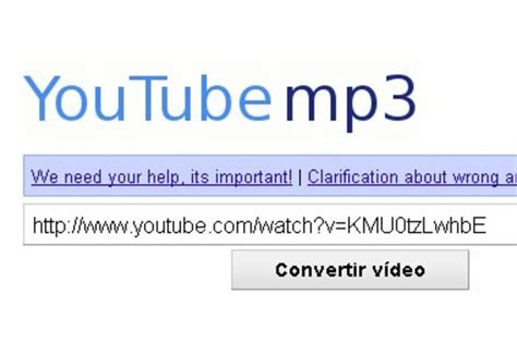 you tube video to mp google pide al conversor youtube mp3 org que cese su actividad