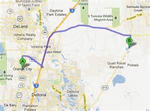 directions from orange city fl 4 jays volusia county