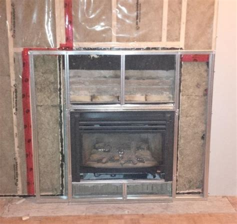 Fireplace Metal Frame by Is Fireplace Reno Safe Doityourself Community Forums