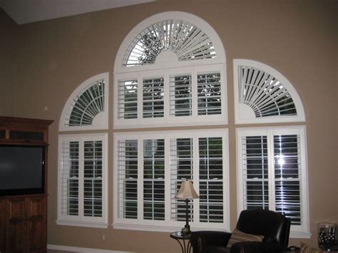 arch window coverings arched window coverings traditional living room by