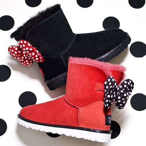 Boots Minnie Mouse By Kenmomshop disney ugg boots
