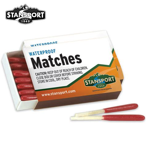 survival match waterproof windproof survival matches chkadels