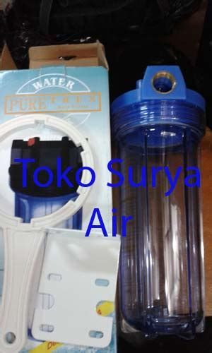 Housing 10 Clear Drat 3 4 Wl10 jual housing filter 10 puretrex osmosis drat 3 4 clear toko surya air