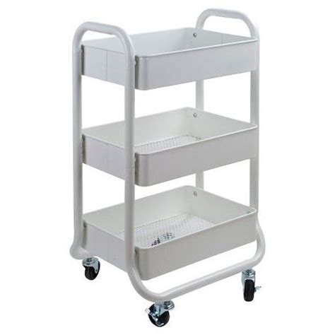 ikea storage cart storage cart white room essentials soaps chairs and