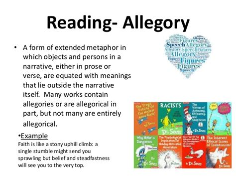 exle of allegory ap lang terms 2014 2015