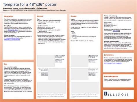 free powerpoint poster template powerpoint poster presentation templates free business