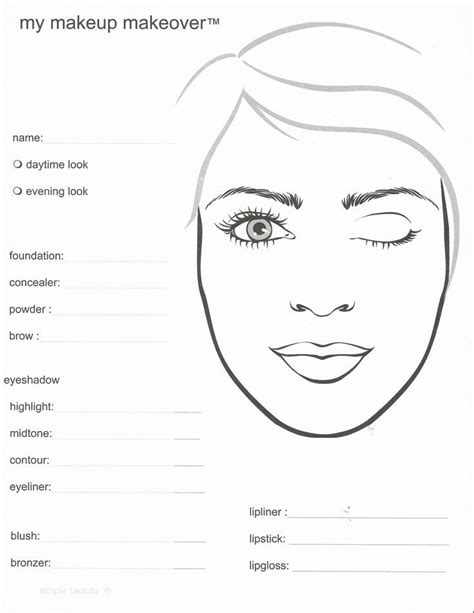 makeup design template the world s catalog of ideas