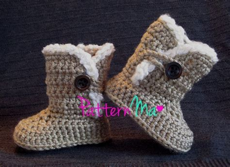 baby knitted ugg boots free knitting pattern for babies ugg boots
