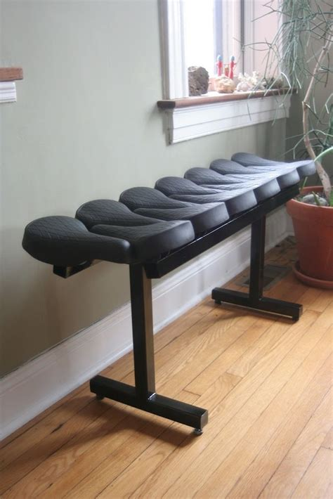 bicycle bench seat bicycle seat bench maui re cyclery pinterest