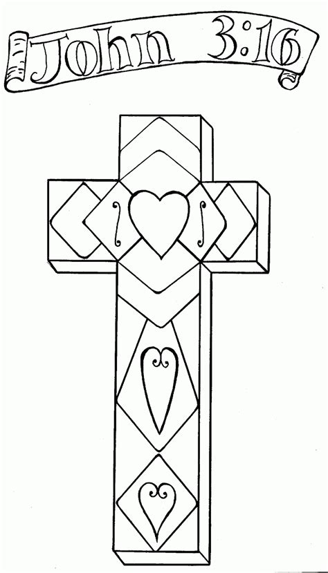 coloring page cross sam and s family page happy easter he is risen