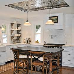 kitchen ceiling ideas photos tin coved ceiling readers clever upgrade ideas that