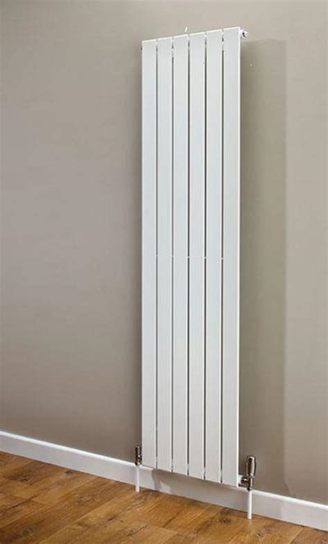 Small Flat Radiators White Vertical Central Heating Flat Designer