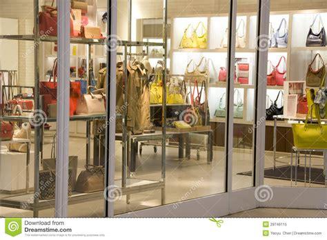 Purse Store luxury handbag fashion store stock image image 29746115