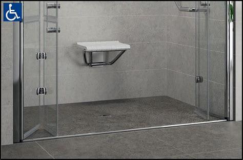 box per doccia a pavimento progetto doccia per disabili idee ristrutturazione bagni