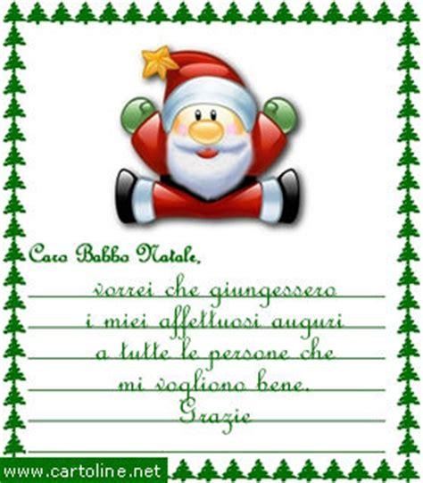 lettere di auguri natalizi letterina di natale con affettuosi auguri