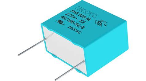 buy x2 capacitor 220 nf 300 vac kemet phe820ed6220mr06l2 distrelec export shop