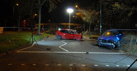 portraits crachs un 2221132092 pictures of 130mph road race crash scene where victim suffered brain injury birmingham mail