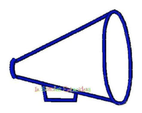 pin megaphone template printable on pinterest
