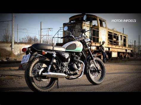 Mash 125 Motorrad Test by Test Mash Seventy Five 125 Youtube