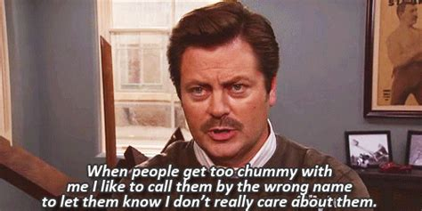 Swanson Birthday Quote The Best Ron Swanson Gifs And Memes On The Internet
