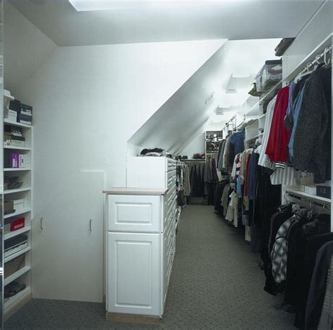 Attic Closet by Attic Conversion Walk In Closet After From Signature