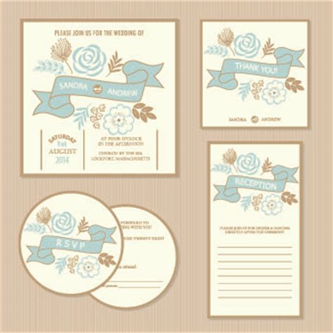 wedding invitation design vector free download wedding invitation with dvd kit design vector 03 vector