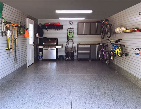 Garage Interior by Garage Makeover From Run To Revitalized