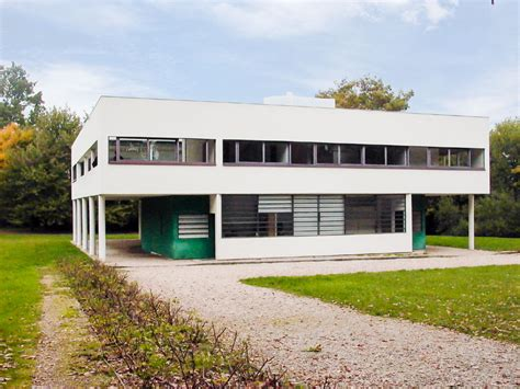 3 Car Garage House by Le Corbusier Villa Savoye Part 1 History
