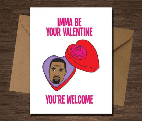 valentines cards cool 16 seriously valentines cards kanye west