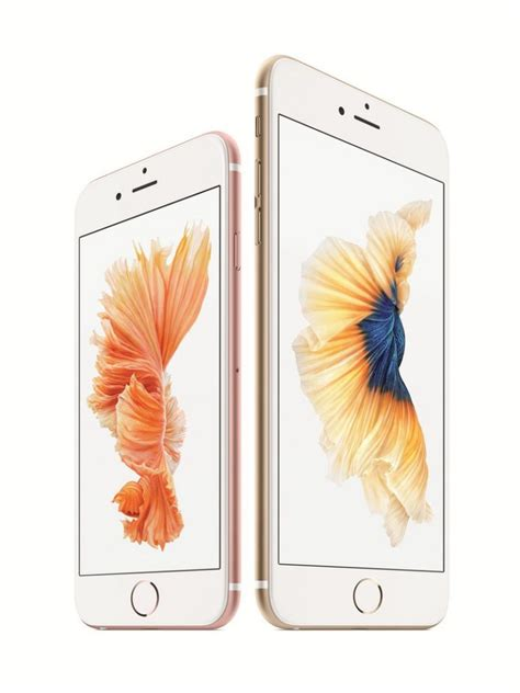 apple announces iphone 6s and 6s plus with 3d touch it s a gadget technology news