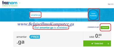 membuat web gratis co id cara membuat website gratis domain ga belajar ilmu komputer