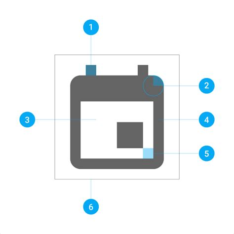 material design guidelines icon icons style material design