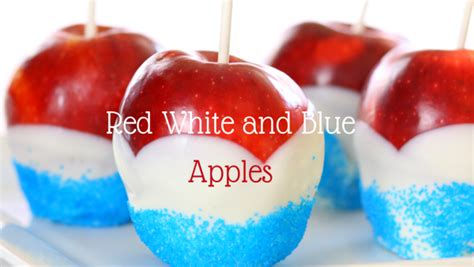 red white  blue apples perfect